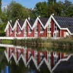 Ferienhaus Pirat mit Wasserterrasse in Wendisch Rietz