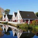 Ferienhaus Kolumbus mit Wasserterrasse inkl. Nebenkosten in Wendisch Rietz