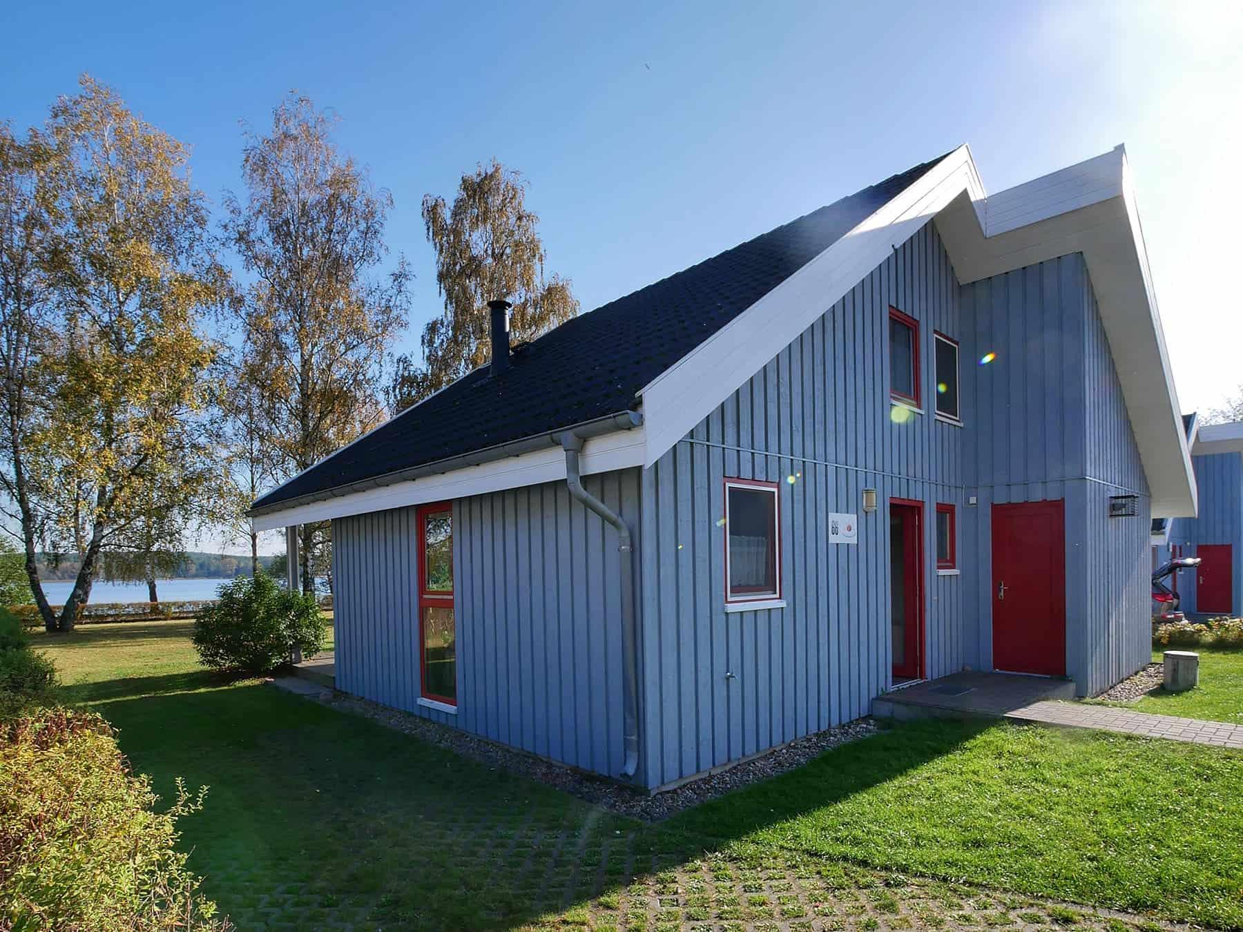 Ferienhaus Seeperle in der 1. Reihe zum See mit Whirlpool inkl. Nebenkosten in Wendisch Rietz