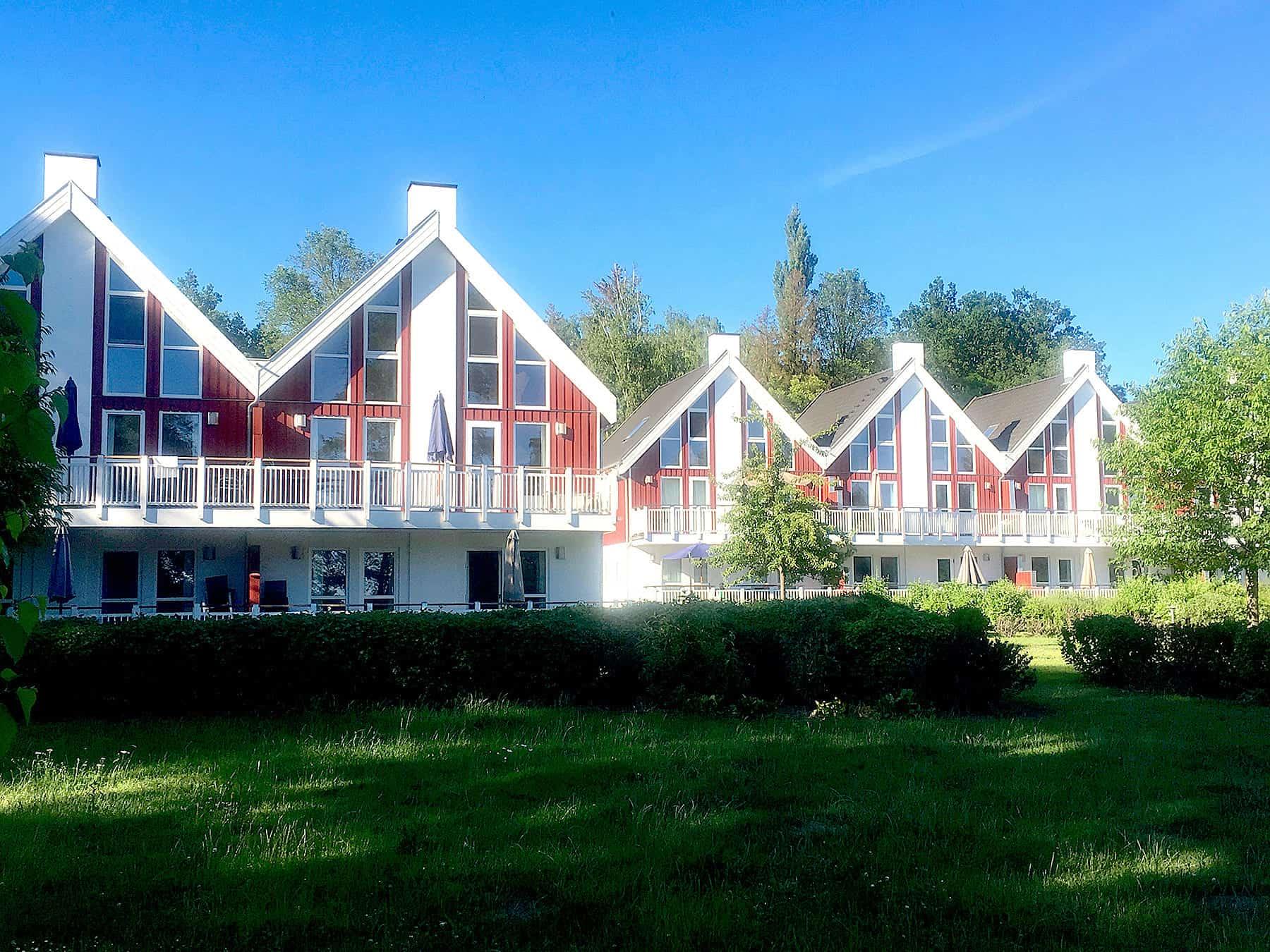 Ferienhaus Bornholm 1. Reihe zum See in Bad Saarow