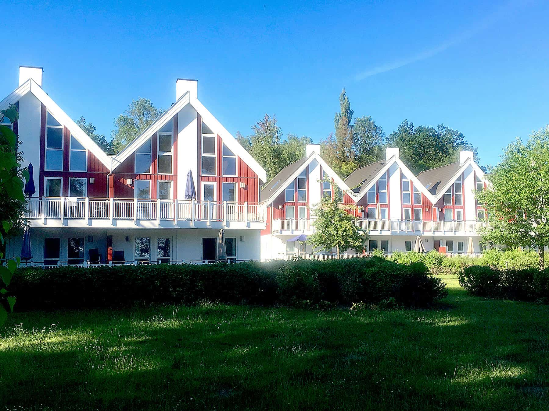 Bornholm 1. Reihe zum See in Bad Saarow
