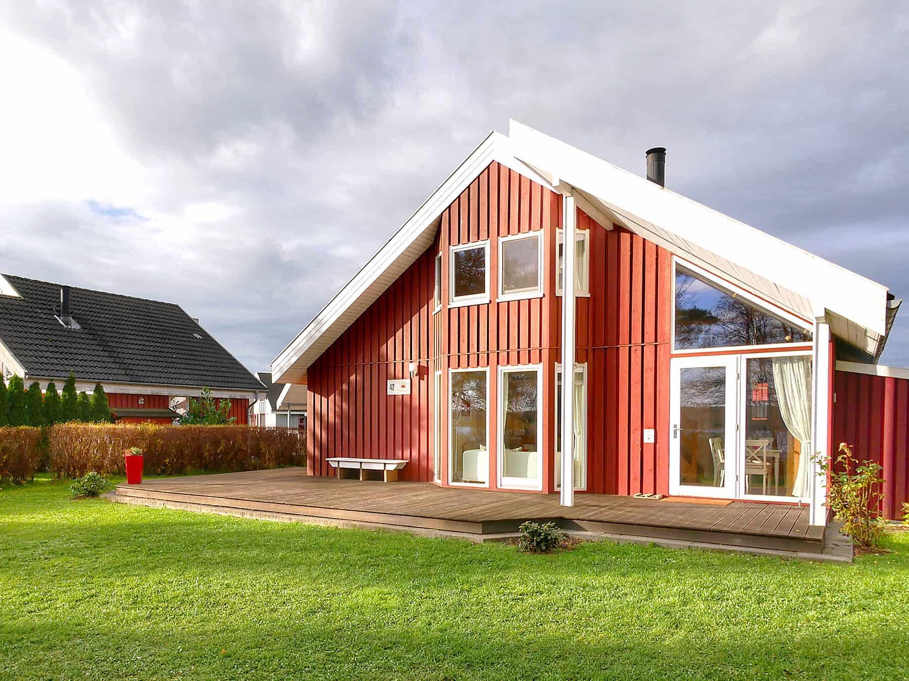 Ferienhaus Seeperle 1. Reihe zum See inkl. Nebenkosten in Wendisch Rietz
