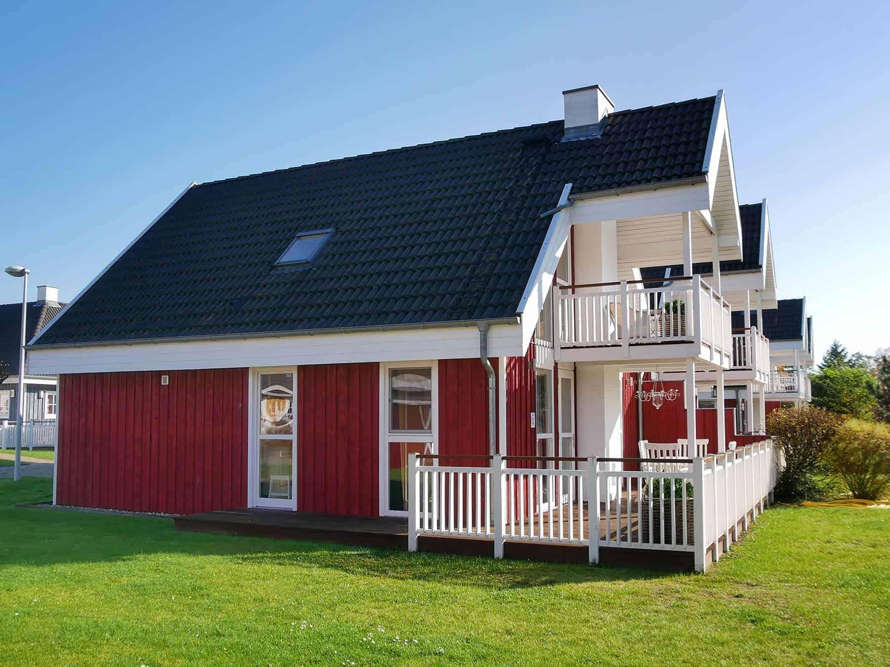 Ferienhaus Kolumbus mit Balkon & Terrasse inkl. Nebenkosten in Wendisch Rietz